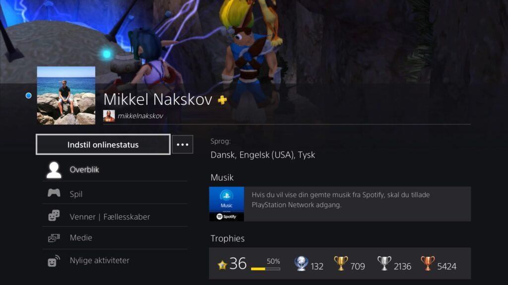 Online Playstation Profil