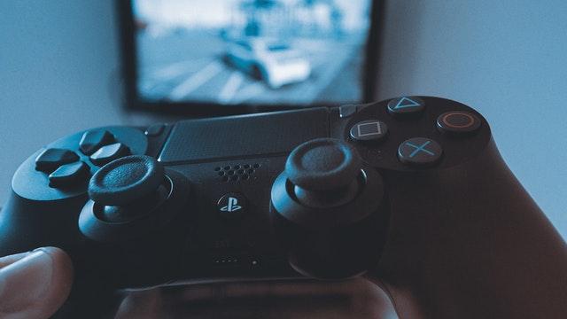 Sort Dualshock 4 controller